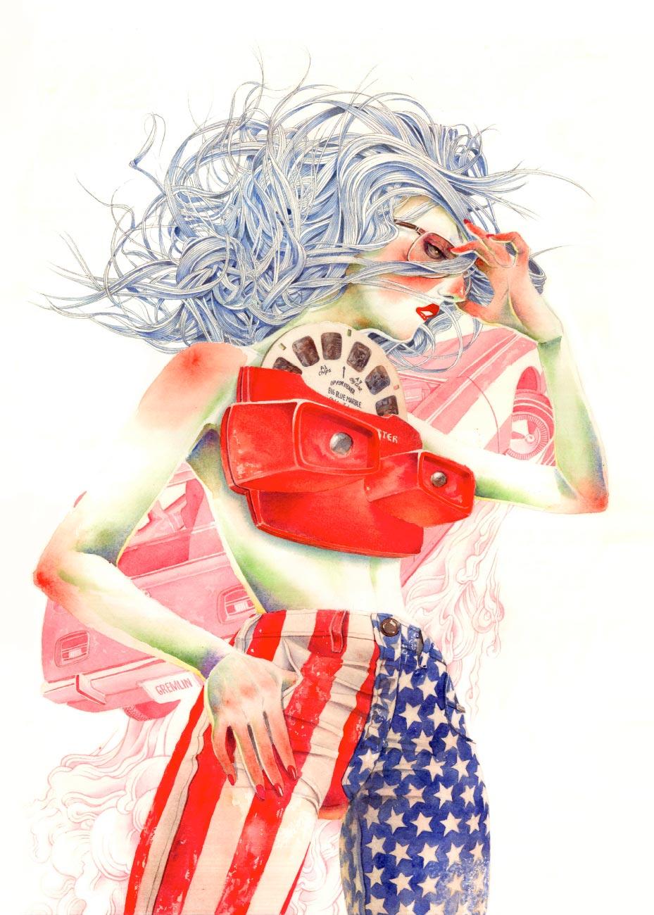 AMERICAN GREMLIN GIRL